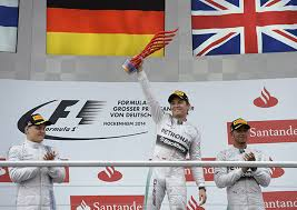 Nico Rosberg extended his championship lead with a home win at Hockenheim.